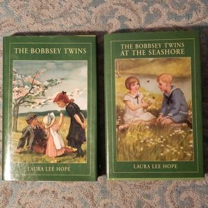 2 Bobbsey Twins hardbacks